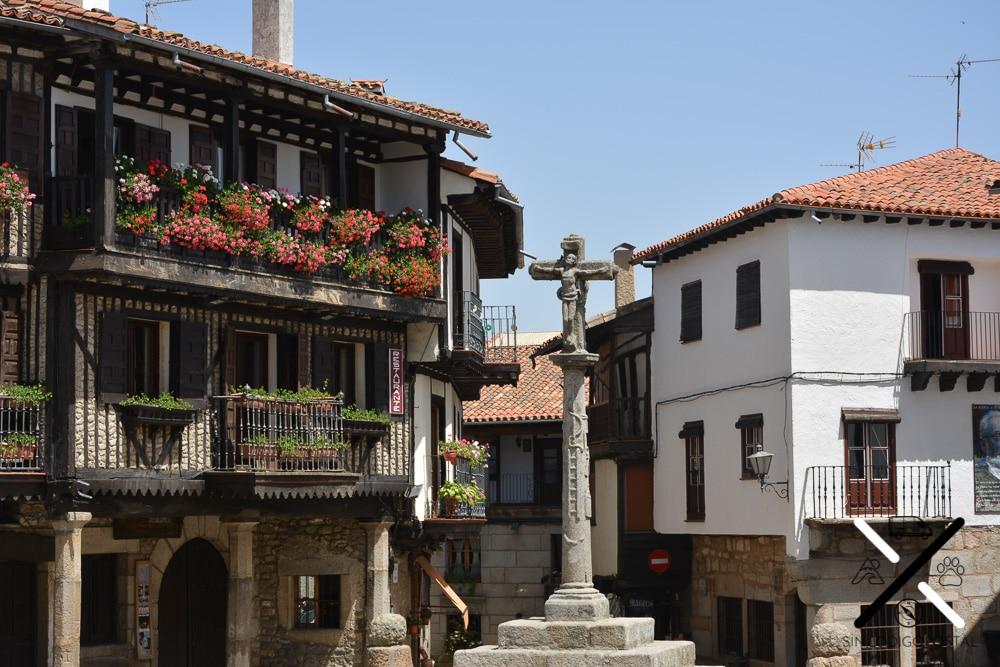 La Plaza Mayor de La Alberca