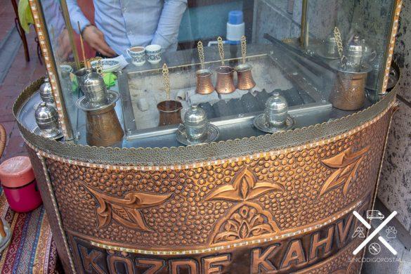 La forma original de elaboración para tomarte un café turco