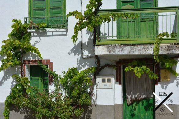 Las casas de Garcibuey llenas de color