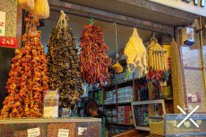 Las tienda que más nos llaman la atención en Estambul, las de alimentación