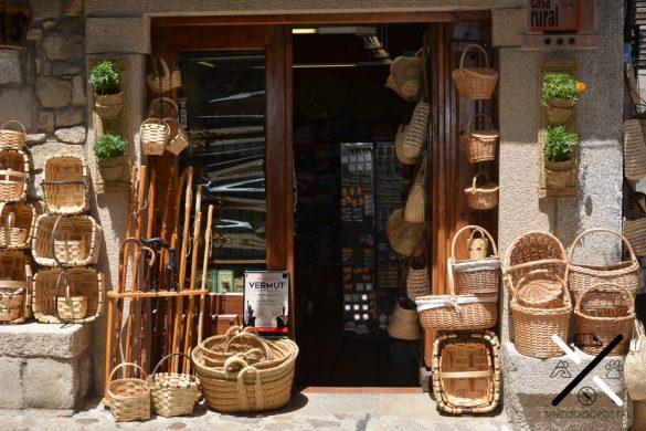 Preciosa ebanisteria en La Alberca