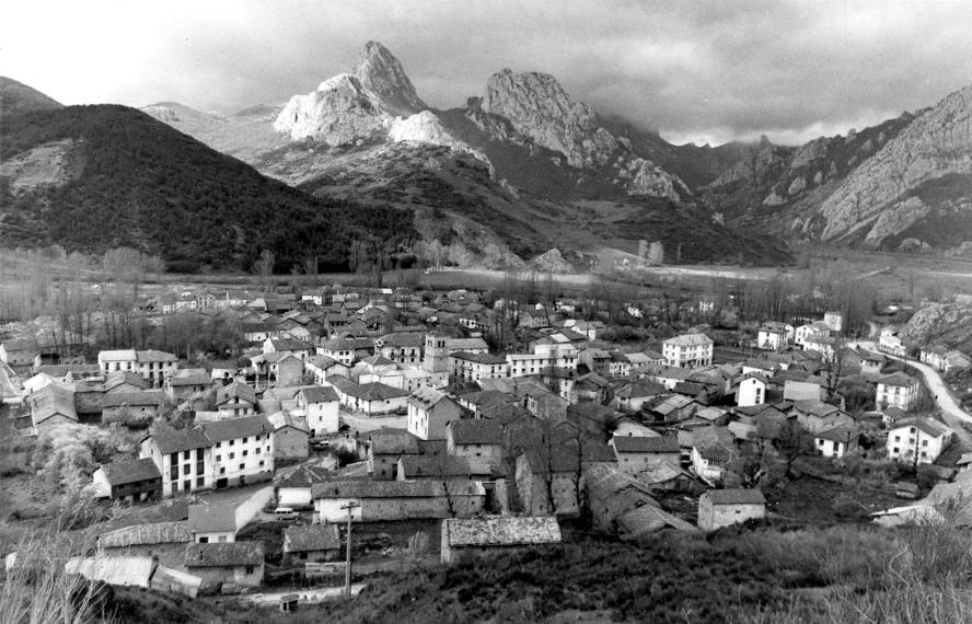 El antiguo pueblo de Riaño antes de ser inundado Fuente P.Cacho