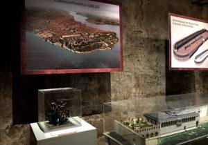 Exposición interior de hipódromos