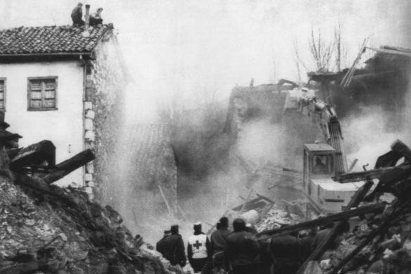 Foto de la demolición de Riaño que encoge el corazón Fuente Ceretjido