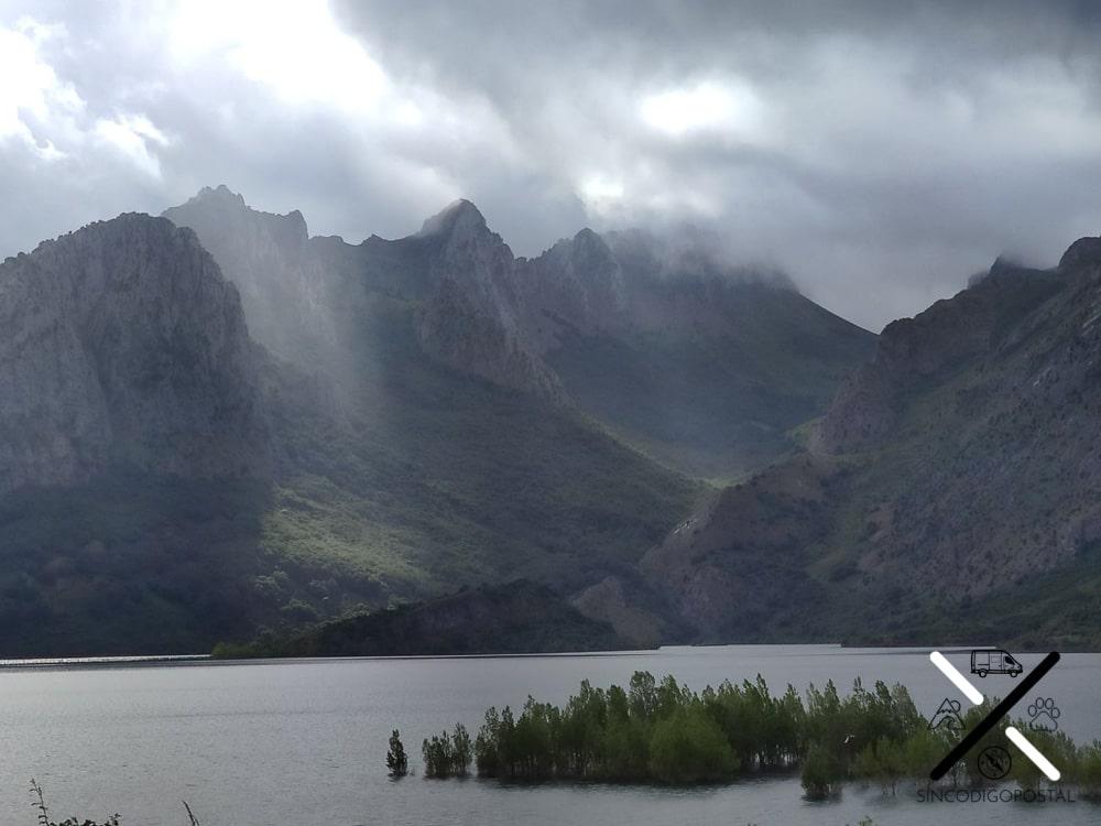 Impresionante las vistas del embalse de Riaño