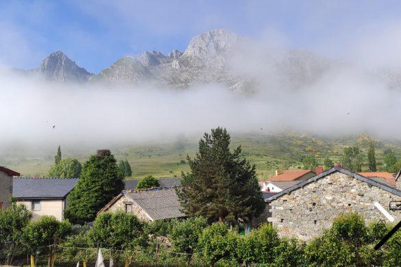 Preciosas vistas desde el pueblo de Maraña