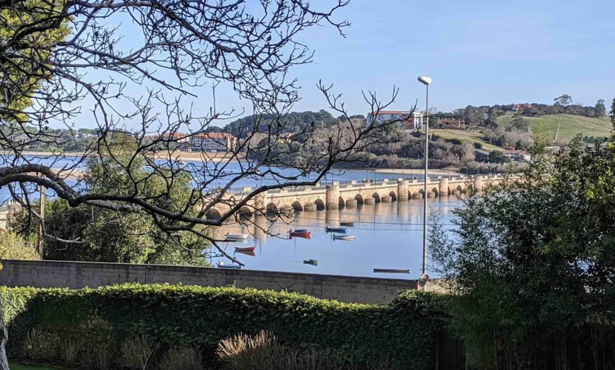 Puente de la Maza, visto desde el Convento de San Luis