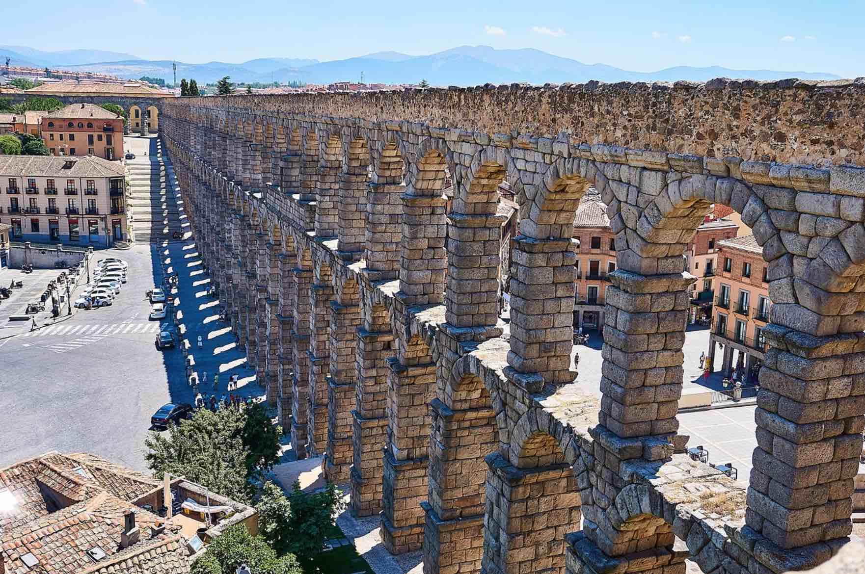Acueducto romano de la ciudad de Segovia