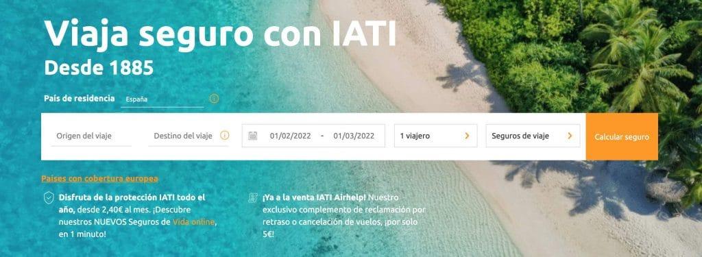 Contratar seguro de viaje IATI
