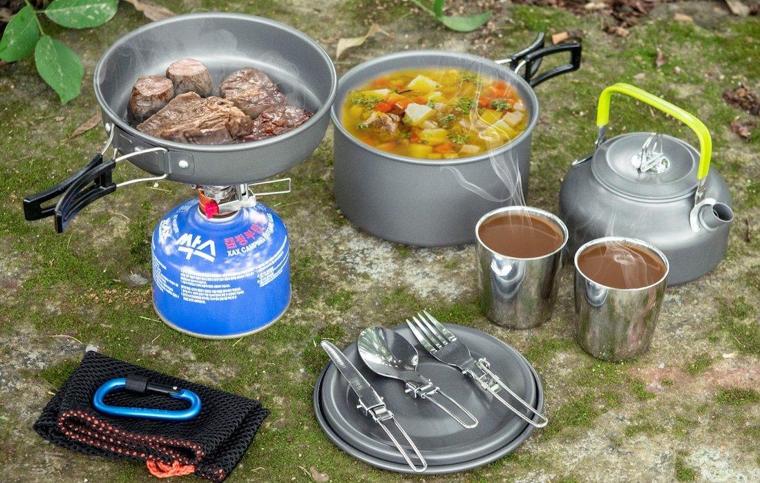 Kit de cocina con todo lo necesario