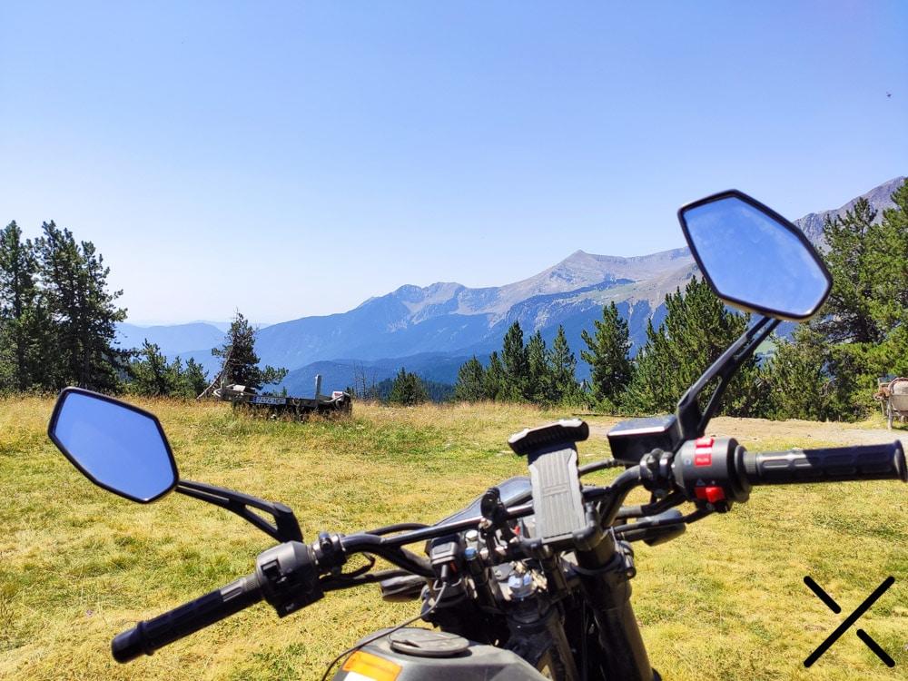 Soporte para el móvil en la moto