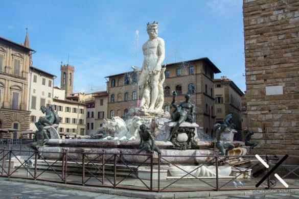 Fuente de Neptuno Florencia