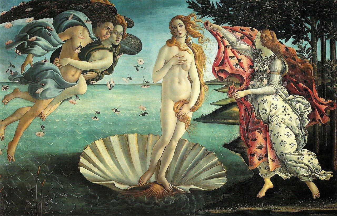 Nacimiento de Venus Florencia