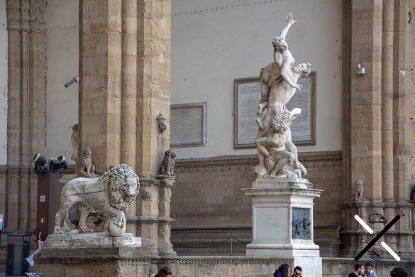 Plaza de la Signoria en Florencia