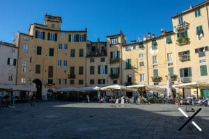 Restaurantes Plaza del Anfiteatro Lucca