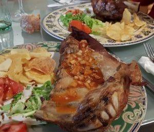 Segundo plato en Casa Manolo