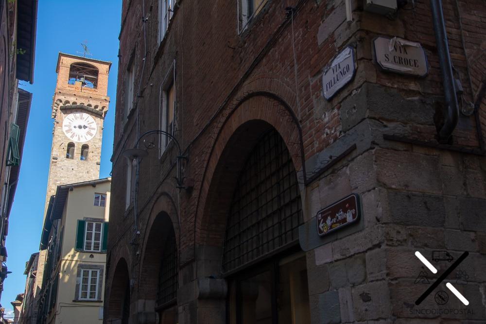 Torre de la hora Lucca