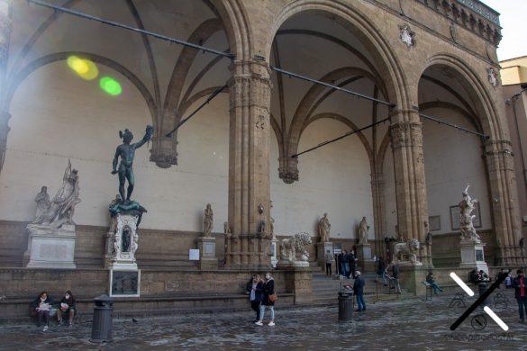 la Piazza de la Signoria Florencia