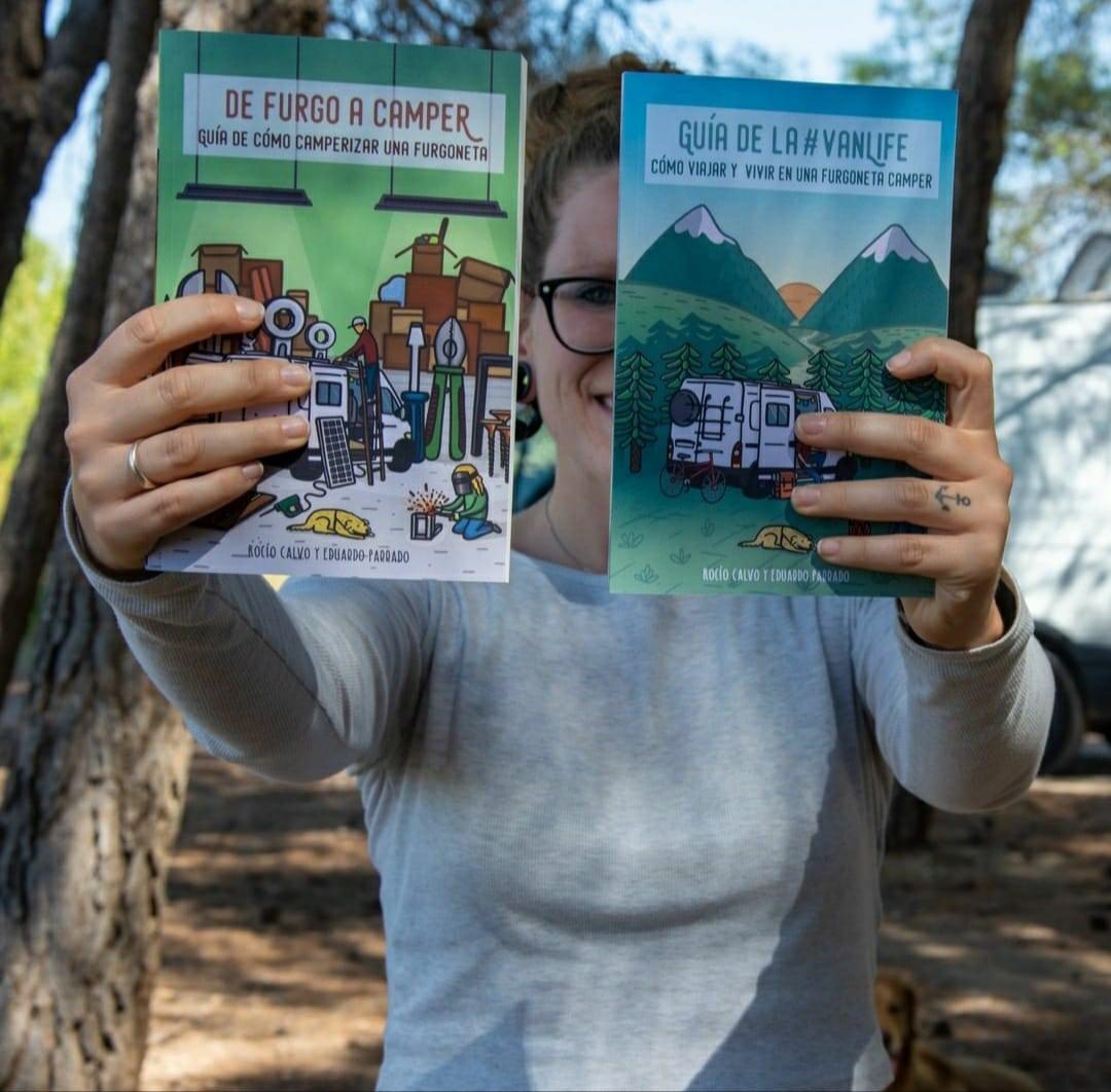 regalar libros furgoneta camper