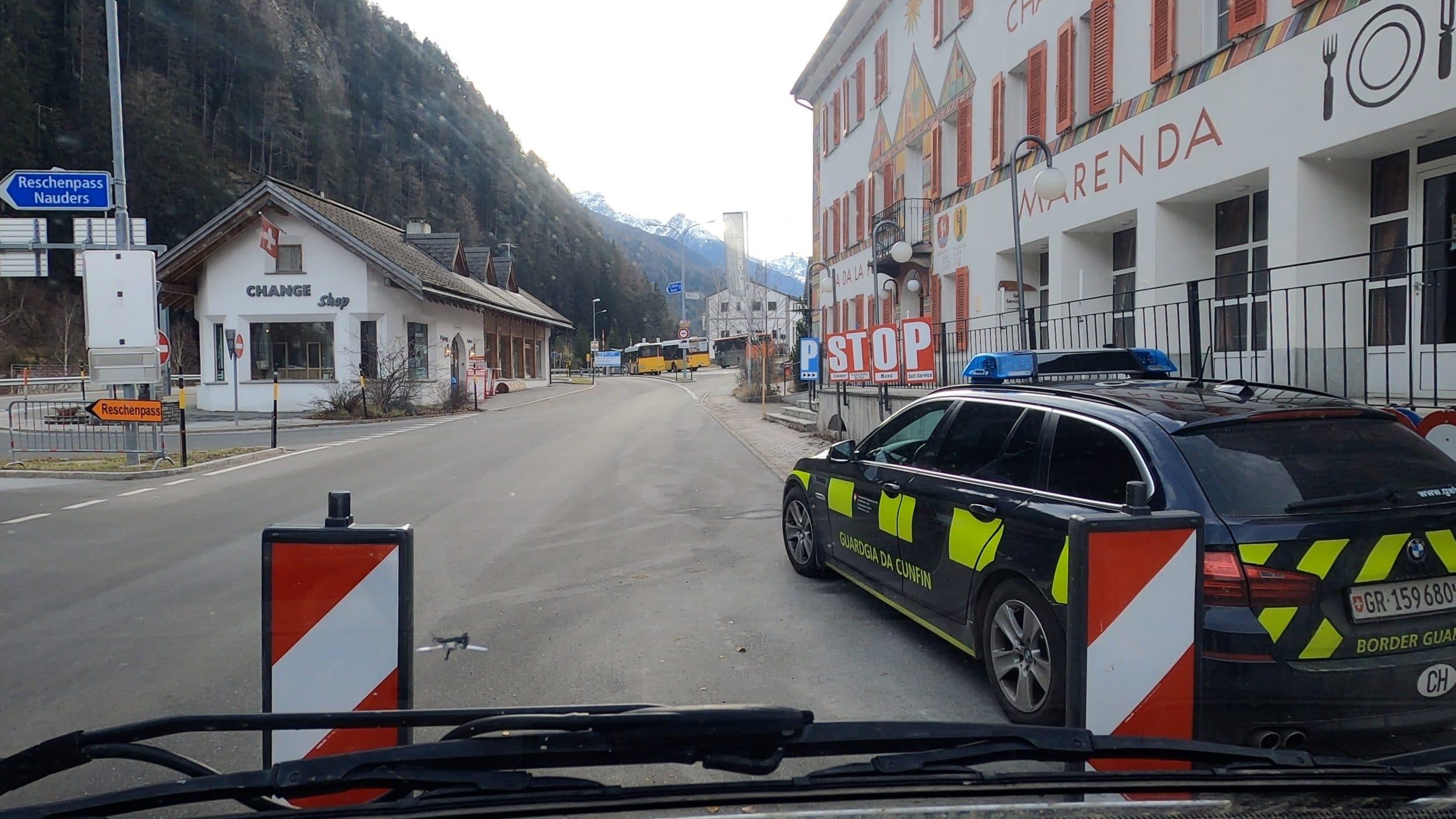 Frontera Suiza camper