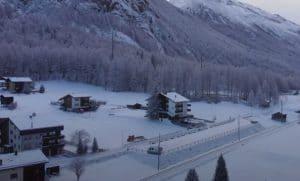 camper invierno suiza