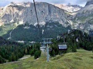 funicular Cinque Torri Dolomitas