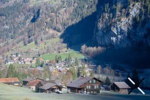 valle de Lauterbrunnen suiza