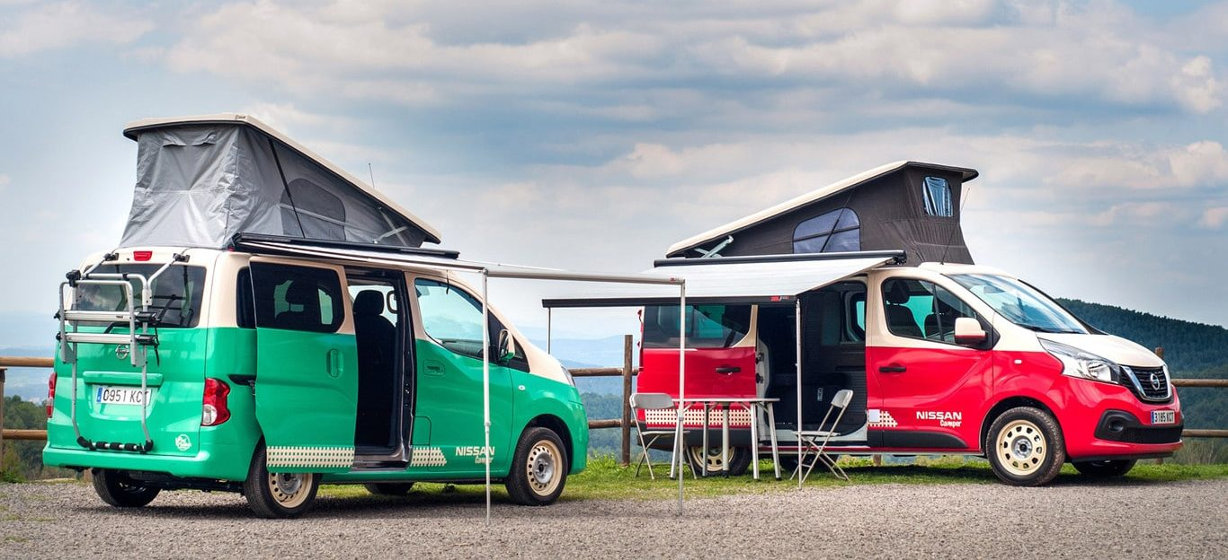 Nissan NV200 versión camper