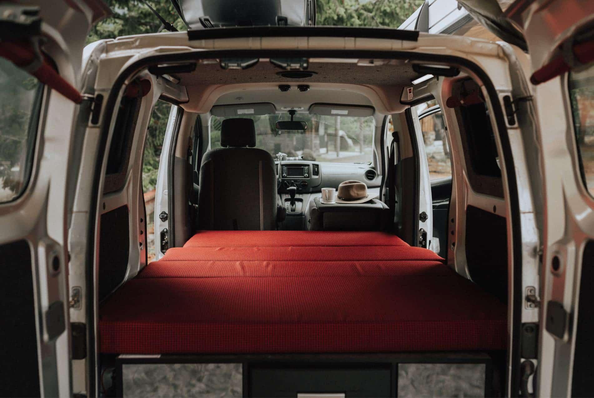 Cama para Mini Camper (Caravan Outfitter)