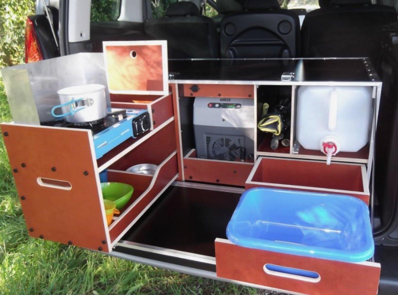 Camperización mini camper (E-Boutique)