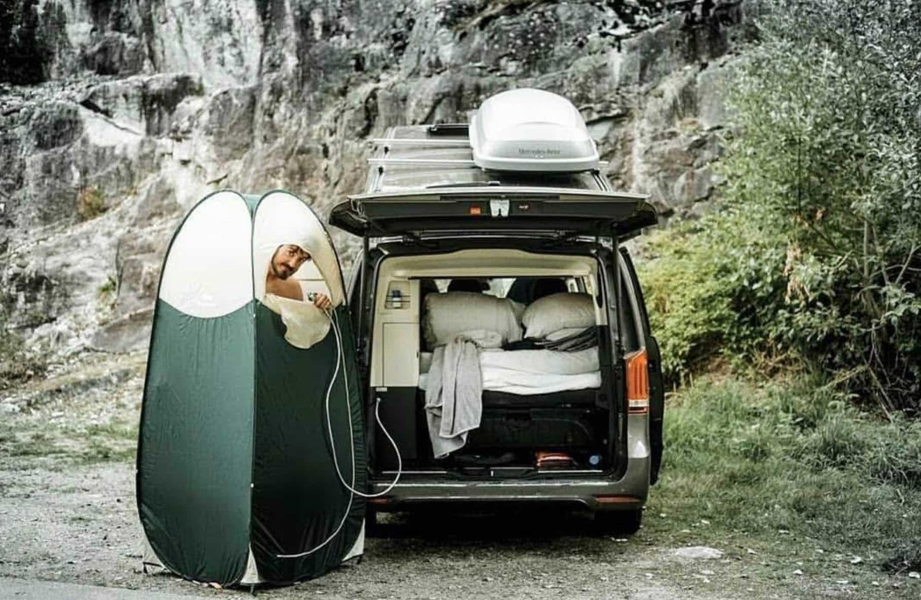 Ducha Mini Camper @we_van