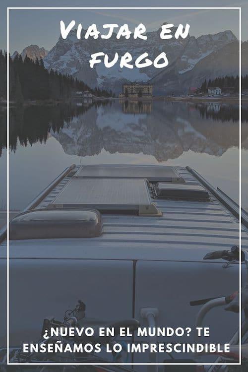 Guía viajar en furgoneta