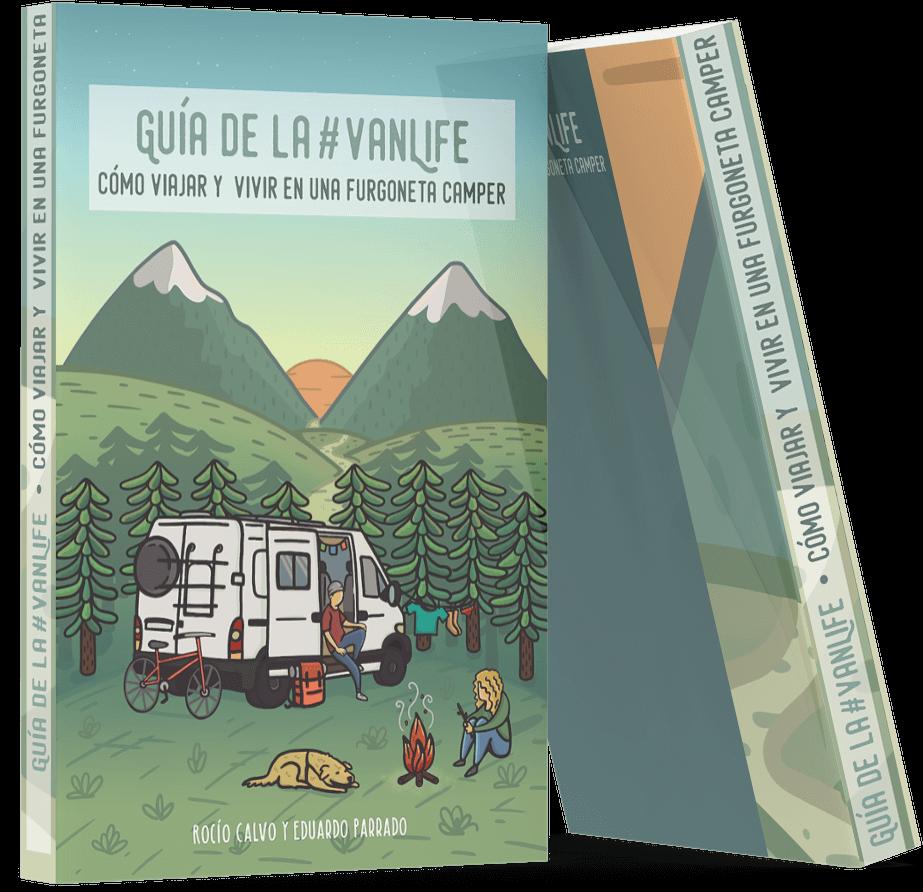 portadas libro vanlife viajar y vivir en furgoneta