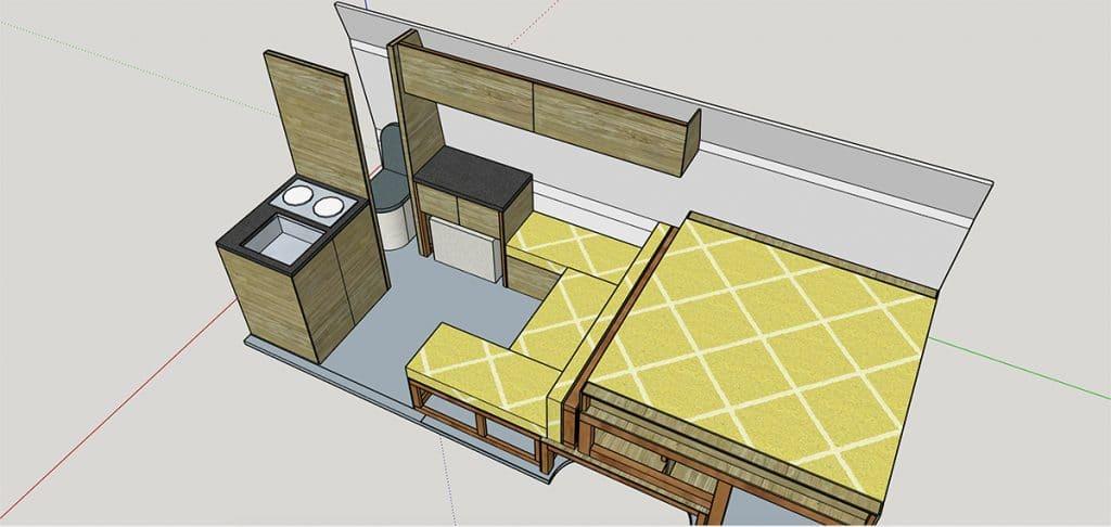 Diseño de interior en AutoCad