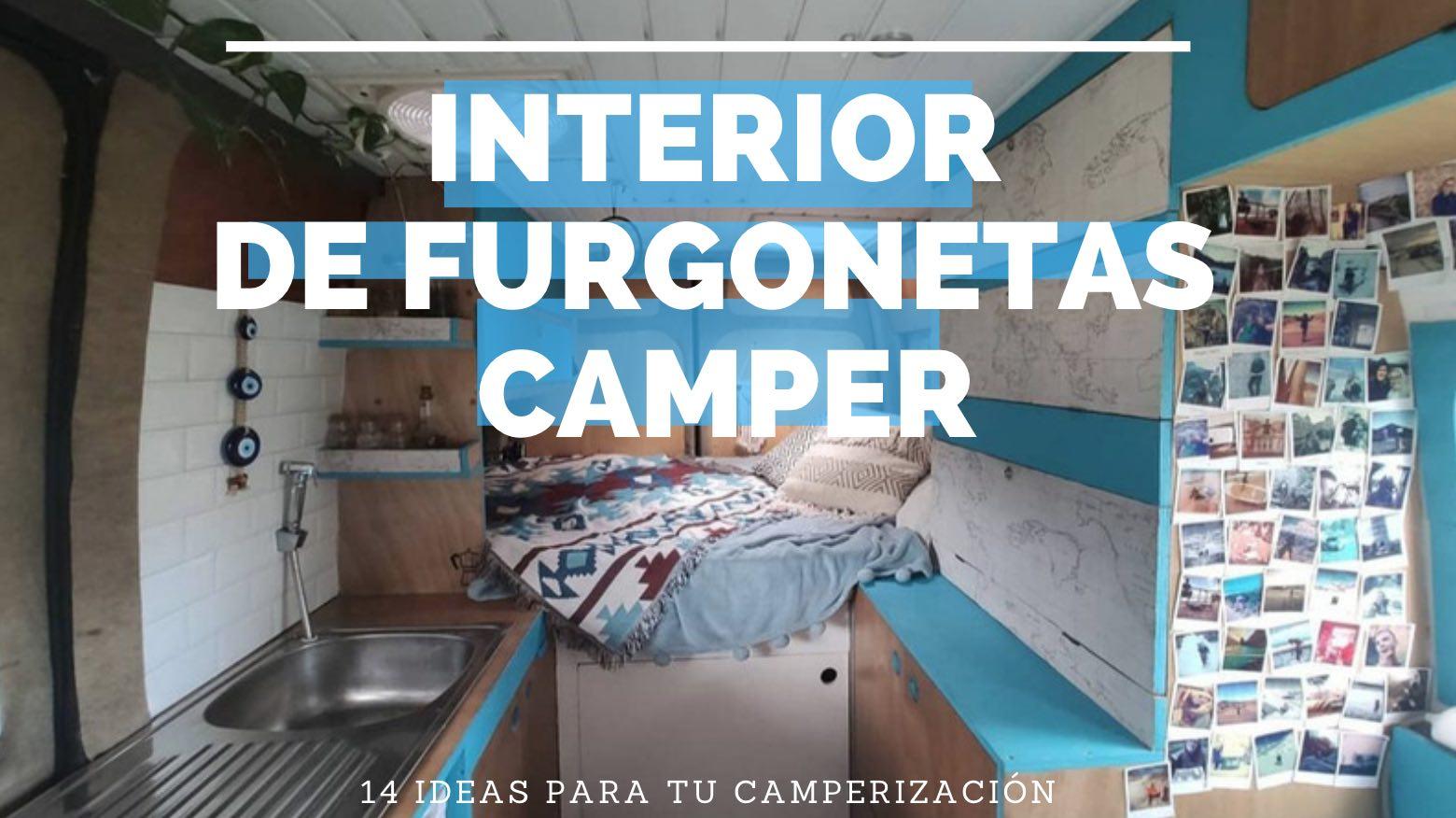 interior de furgonetas camper