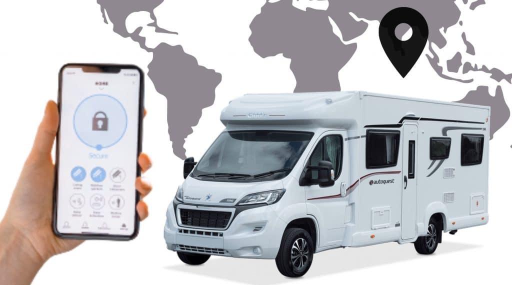 Localizador GPS autocaravana o furgoneta