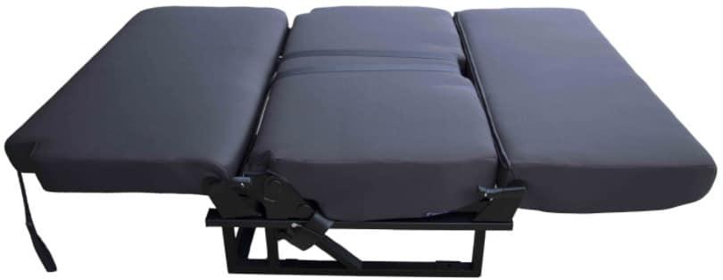 Estructura de asiento cama