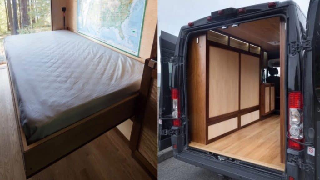 cama abatible para camper (Rydavan)