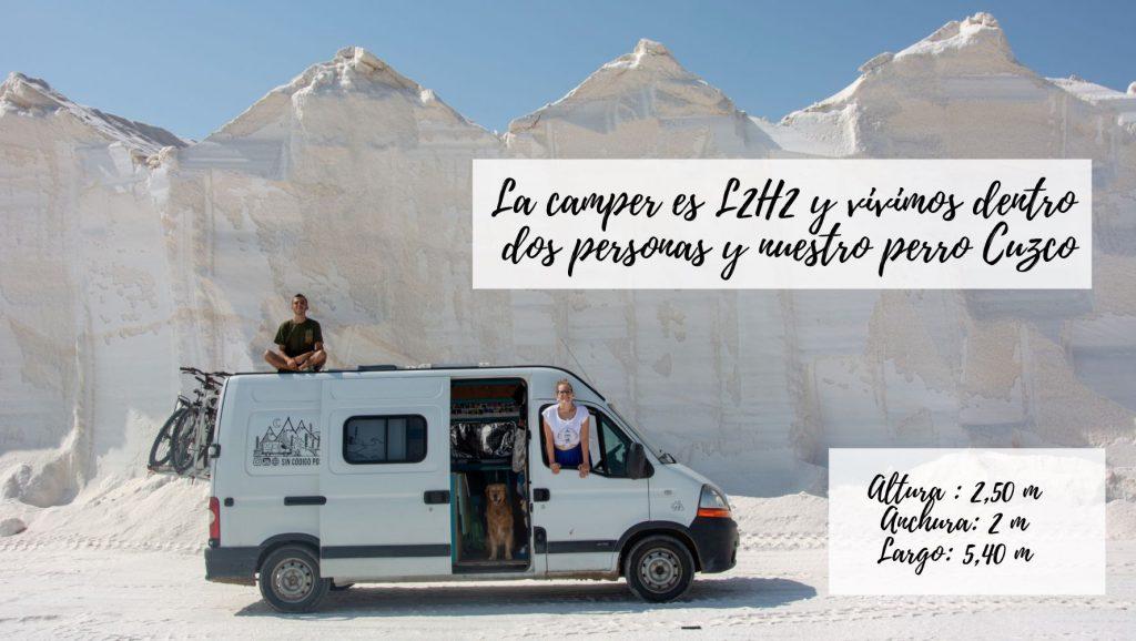 Medidas furgoneta camper