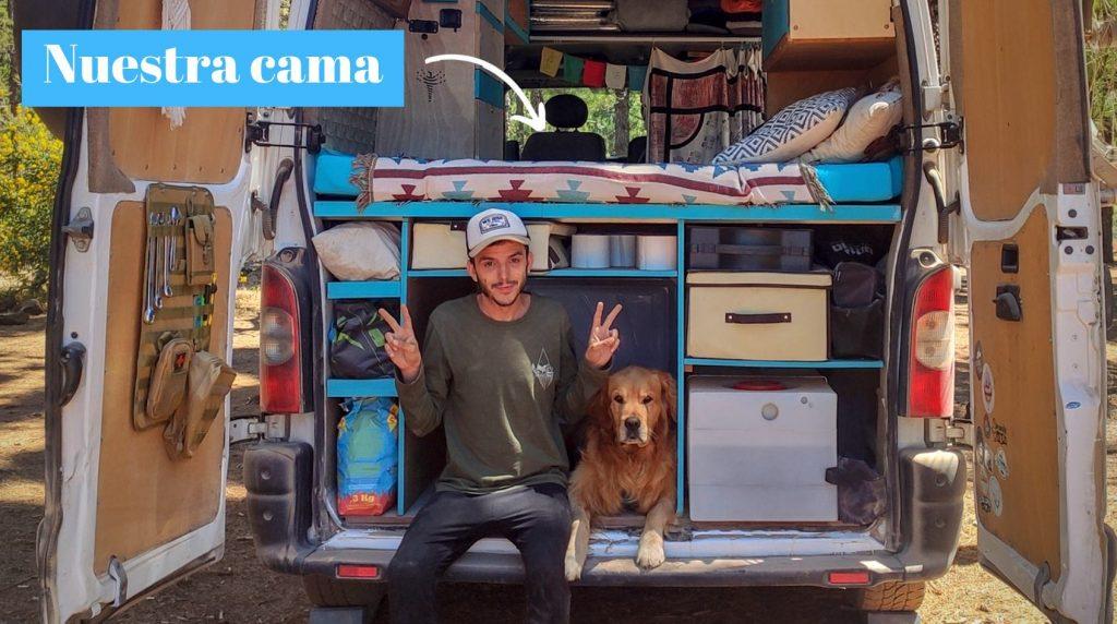 cama furgoneta camper