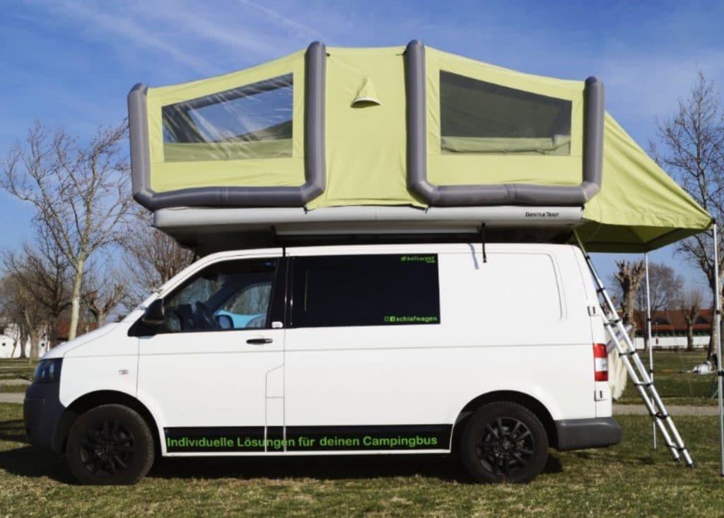tienda cama de techo para furgoneta camper