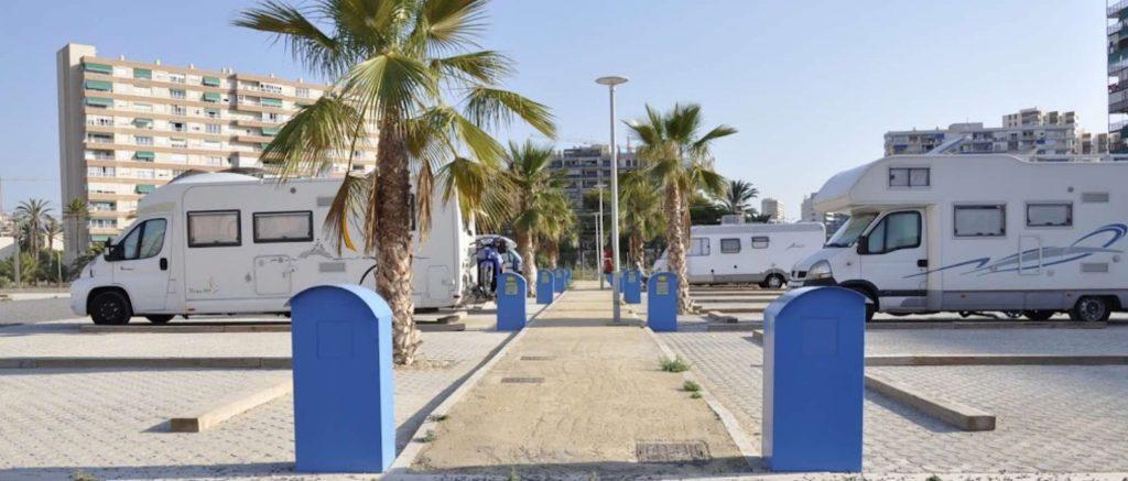 Área autocaravanas Alicante