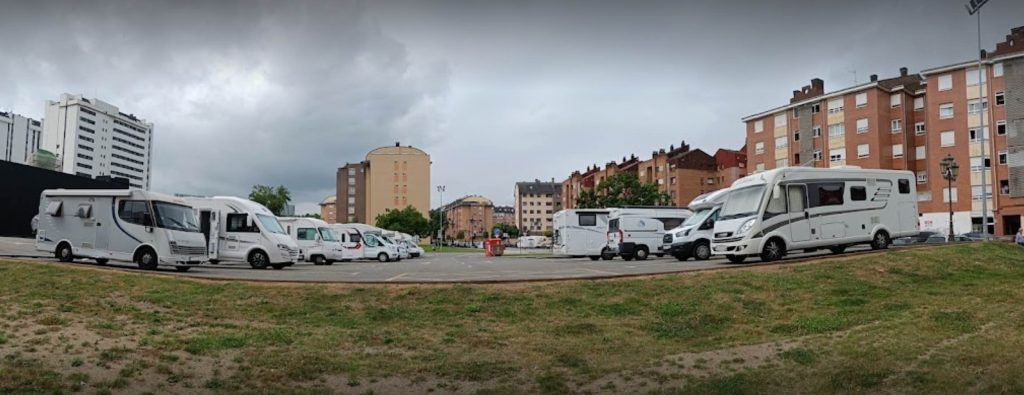 Área autocaravanas Oviedo