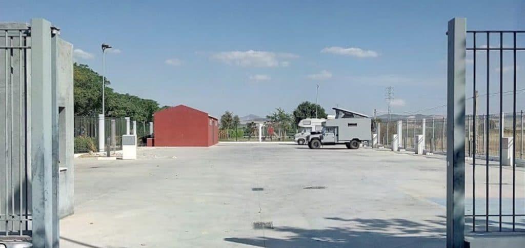 Area de autocaravanas Puebla de Cazalla