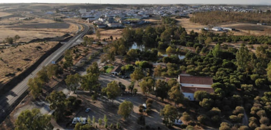 Área de autocaravanas de Berlanga