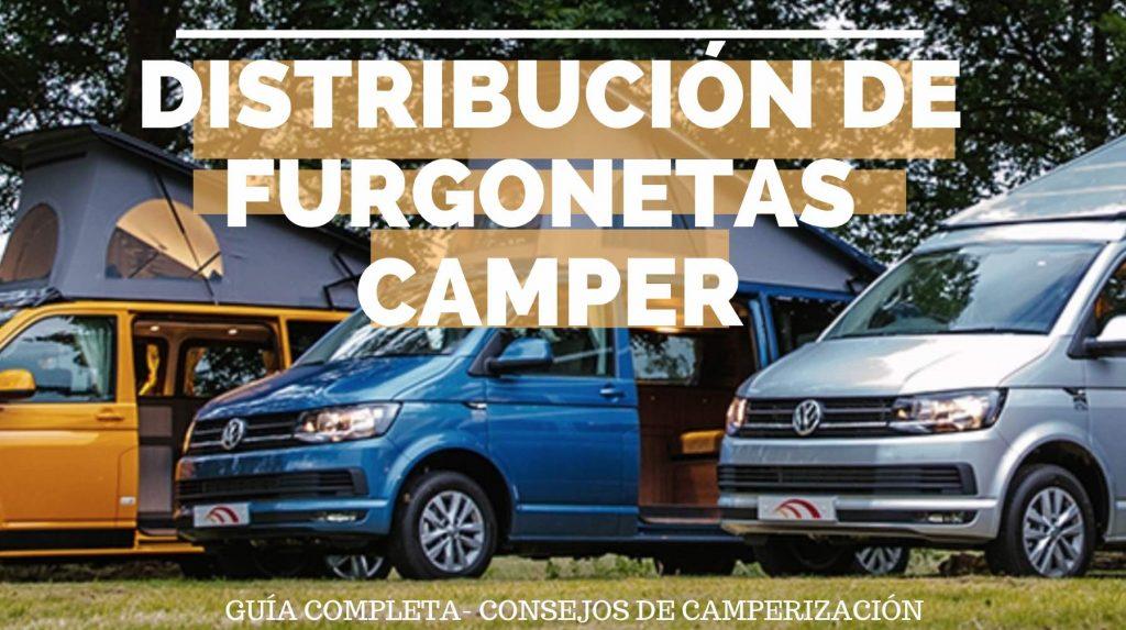 Distribucion de furgoneta camper