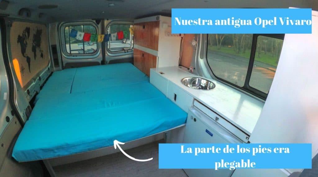 Distribución furgoneta pequeña