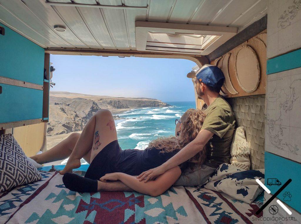 camperizacion furgoneta camper para dos personas
