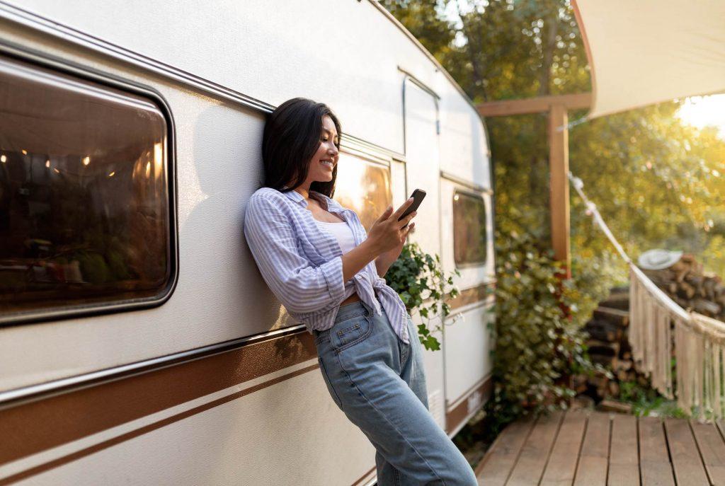 Aplicación móvil para el alquiler de tu autocaravana o furgoneta camper